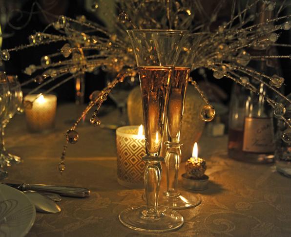 Mise en sc ne table de no l verreries des lumi res createur artisan verrier paris - Comment mettre la table en france ...