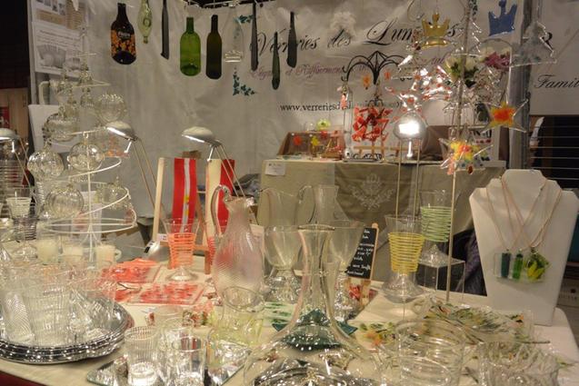 F vrier 2015 salon d artisanat verreries des lumi res createur artisan - Verreries des lumieres ...
