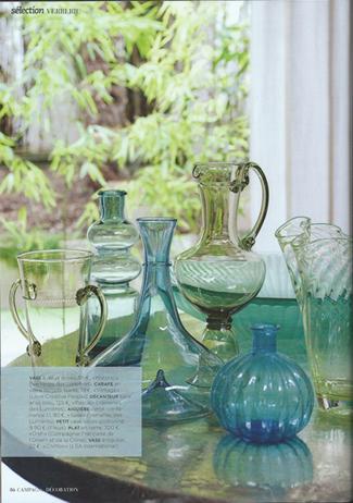 Mai 2015 magazine campagne d coration verreries des lumi res createur ar - Verreries des lumieres ...