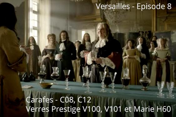 Novembre 2015 s rie tv versailles verreries des lumi res create - Verreries des lumieres ...