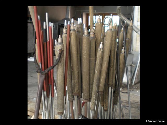 Outils de verriers verreries des lumi res createur artisan verrier paris - Verreries des lumieres ...