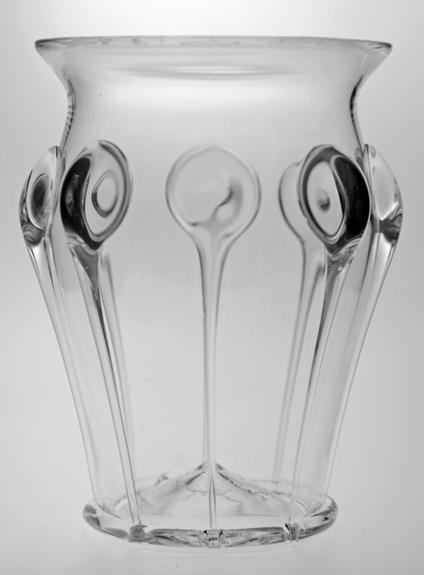 Grand vase larmes de verre verreries des lumi res createur artisan verr - Verreries des lumieres ...